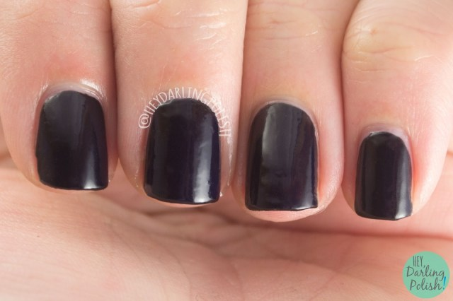 black, chantal, creme, luxe lacquers, august, subscription box, indie, indie polish, swatches, hey darling polish