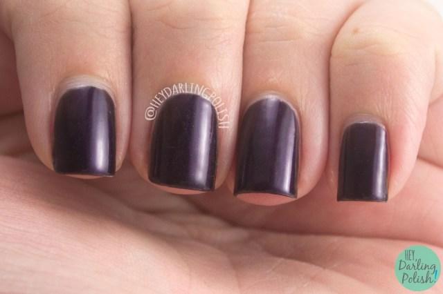 posh, purple, nails, nail polish, polish, indie nail polish, indie polish, nvr enuff polish, nvr enuff, spice world, spice girls, hey darling polish, swatch,