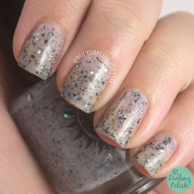 nails, nail polish, indie polish, indie nail polish, 365 days of color, the diary, horcrux, harry potter, swatch