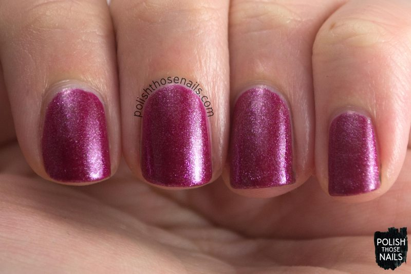 halbouty, shimmer, maroon, parallax polish, indie polish, secience collection, science