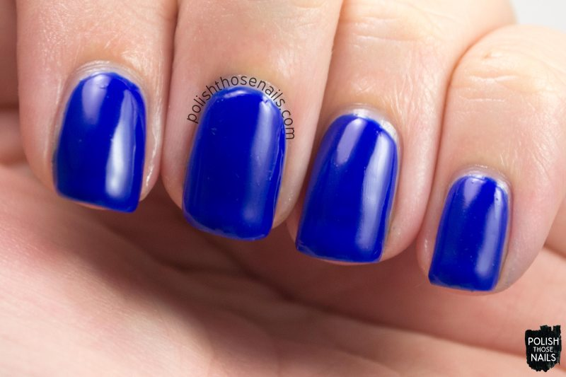 low and be bold, creme, blue, kbshimmer, nail polish, indie polish, polish those nails,