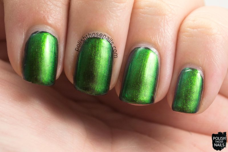 urban camo, swatch, multi chrome, green, kbshimmer, nail polish, indie polish, polish those nails,