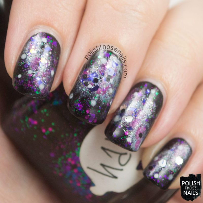 nails, nail art, nail polish, galaxy nail art, polish those nails