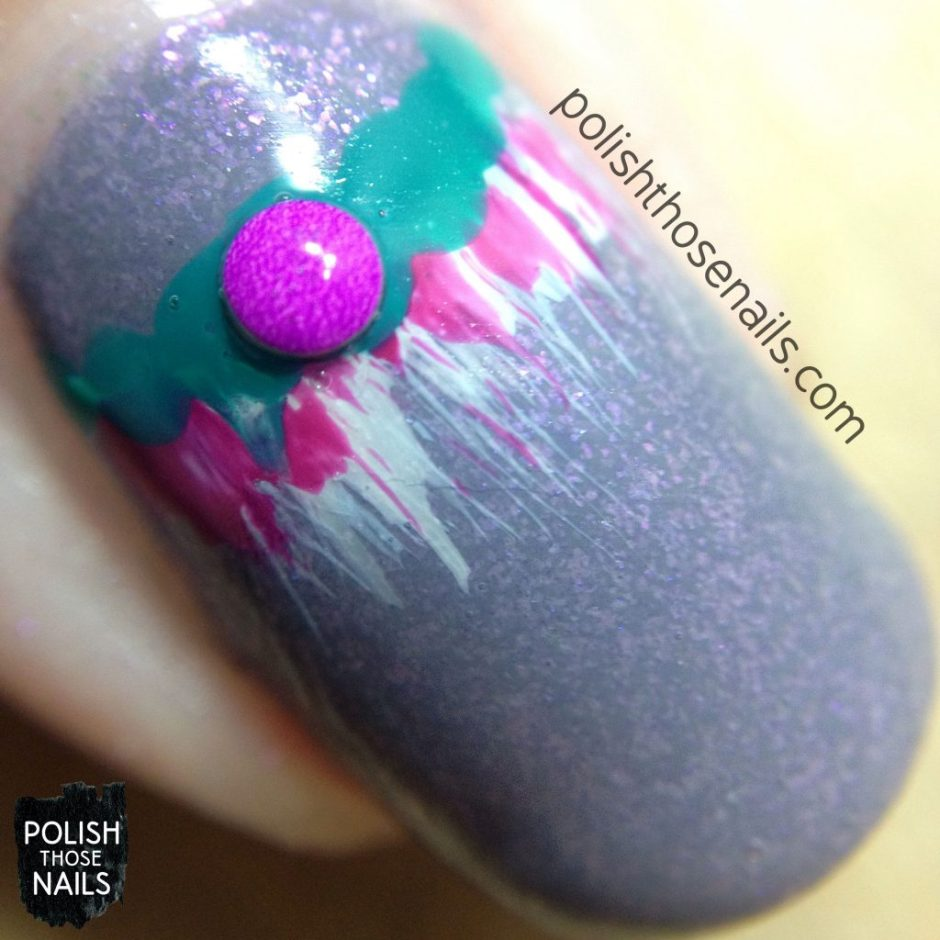 nails, nail art, nail polish, half moon manicure, polish those nails, macro