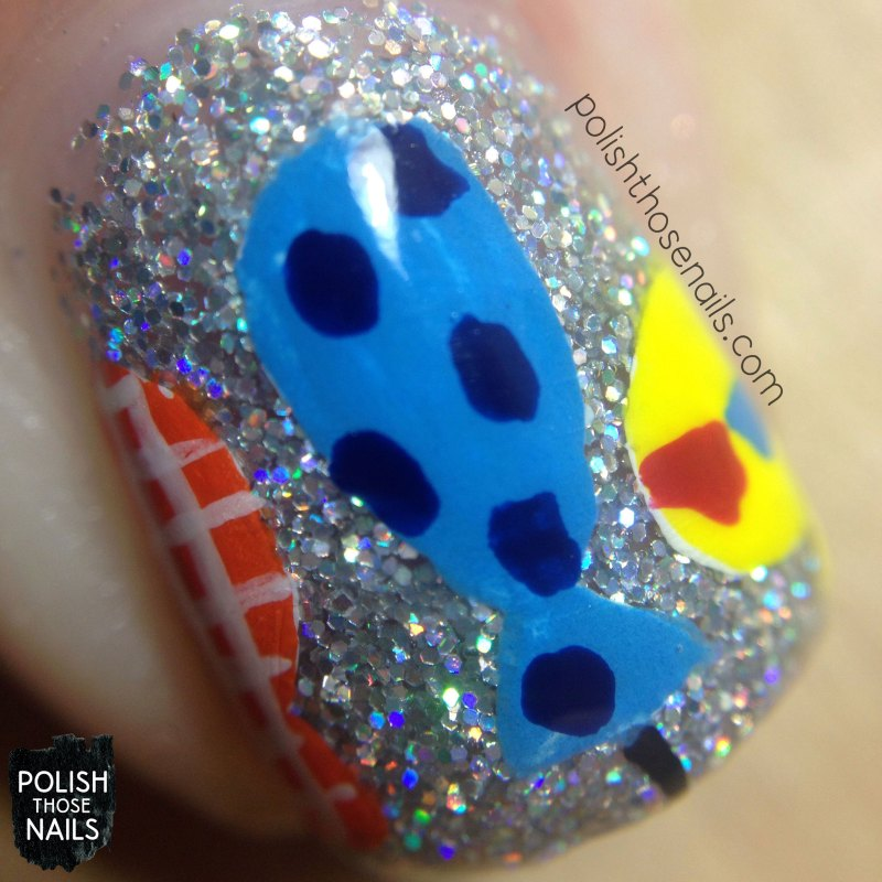 nails, nail art, glitter, polish those nails, balloons, birthday nails, indie polish, daily hues nail lacquer eve, macro