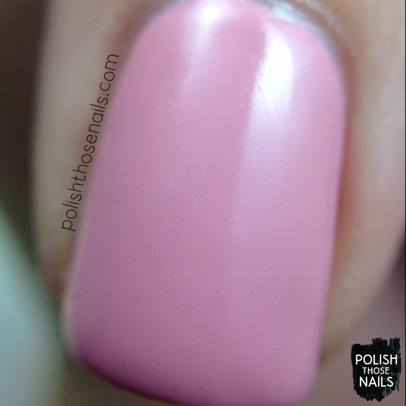 sinfulcolors, pink break, pink, creme, swatch, polish those nails, a class act, back to school 2015, macro