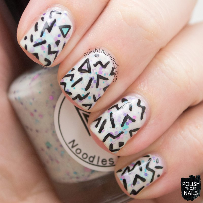 black friday mystery, nails, nail polish, polish those nails, indie polish, noodles nail polish, nail art,