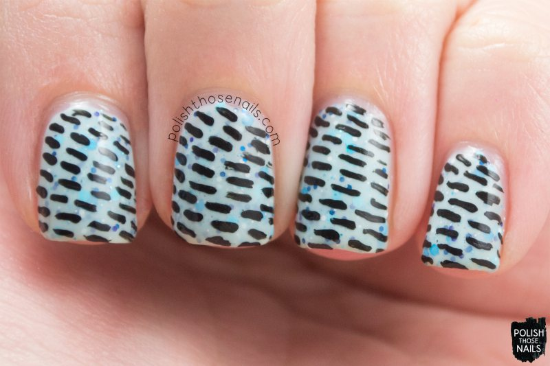 winter wishes, blue, nails, nail polish, polish those nails, indie polish, noodles nail polish, nail art