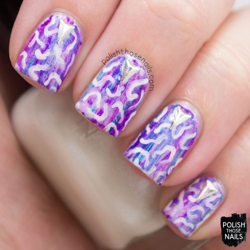 nails, nail art, nail polish, sharpie, pattern, polish those nails