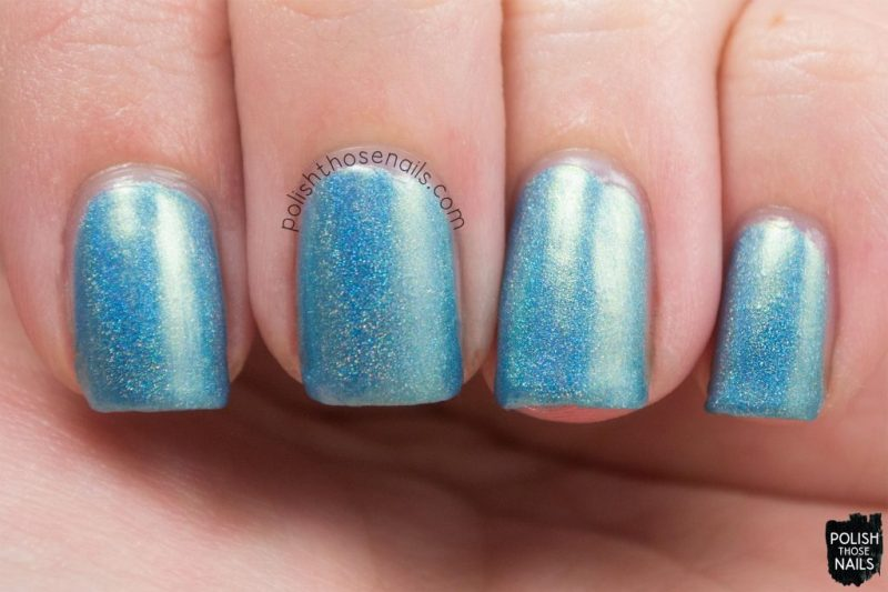gulf stream, teal, holo, shimmer, nails, nail polish, indie polish, parallax polish, polish those nails, the secrets of the 7 seas