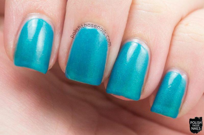 sea foam, teal, shimmer, nails, nail polish, indie polish, parallax polish, polish those nails, the secrets of the 7 seas