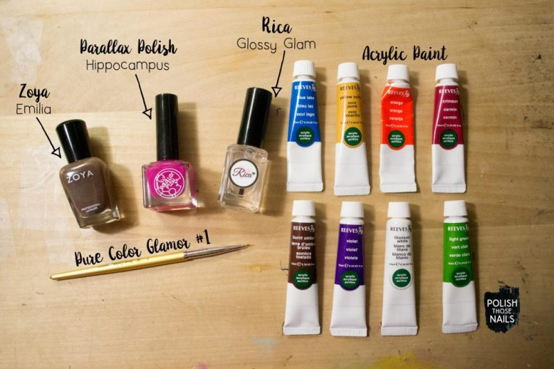 brown-spring-bright-floral-pattern-nail-art-bottle-shot