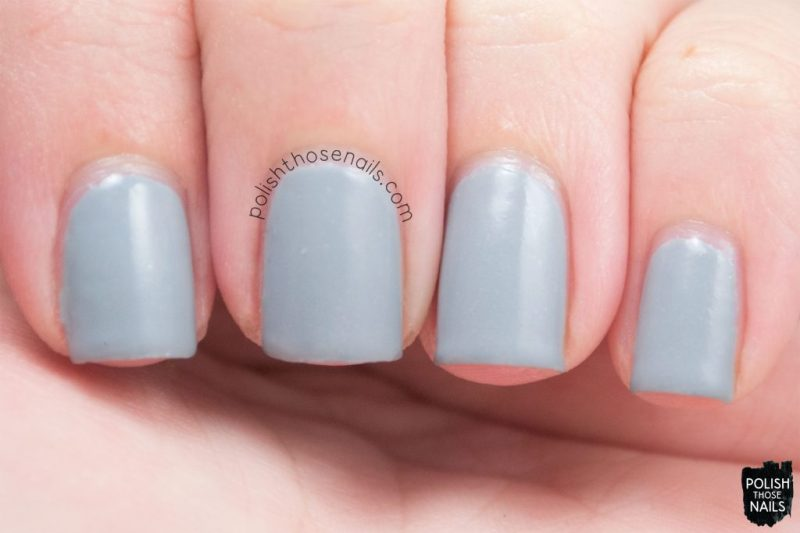 swatch, heartless, nails, nail polish, indie polish, midwest lacquer, polish those nails, grey, shimmer
