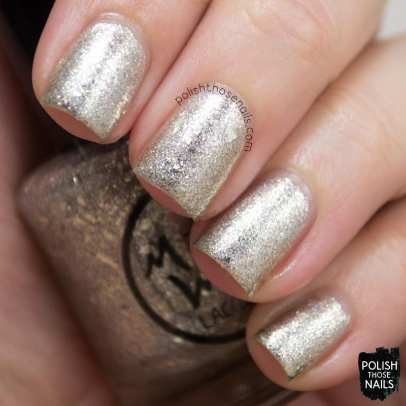 swatch, sandwiches & buttermilk, silver, flakies, nails, nail polish, indie polish, midwest lacquer, polish those nails