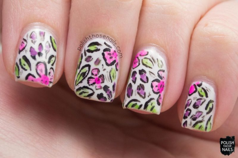 nails, nail art, nail polish, florals, flowers, polish those nails