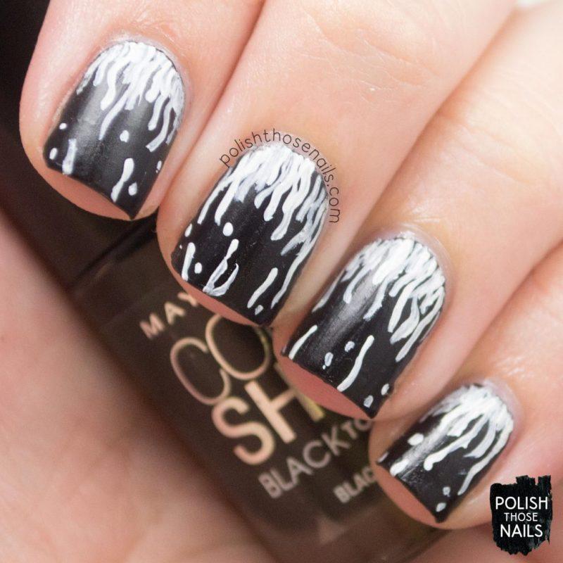 nails, nail art, nail polish, squiggles, polish those nails,