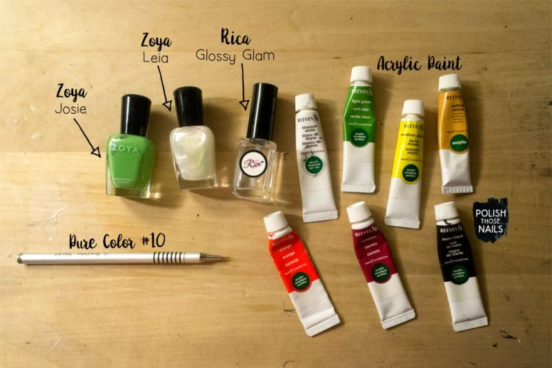 green-shimmer-insect-pattern-nail-art-bottle-shot