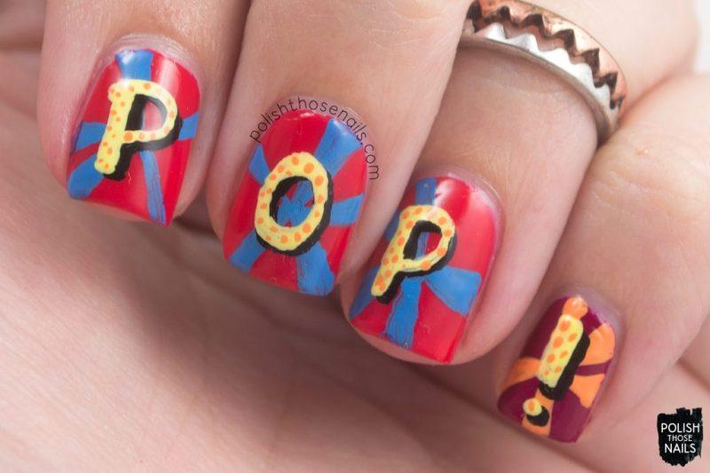 nails, nail art, nail polish, pop art, pop, polish those nails,