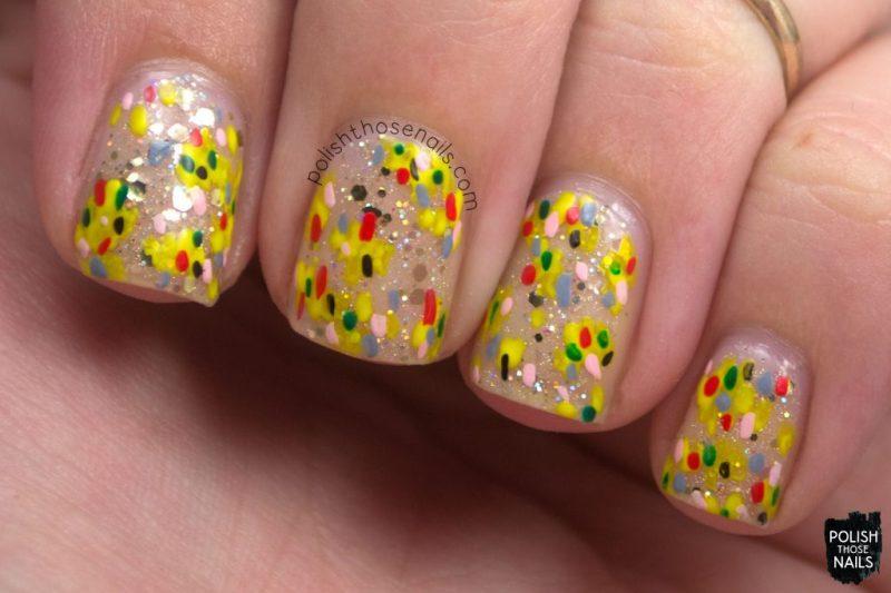 nails, nail art, nail polish, indie polish, negative space, polish those nails, glitter