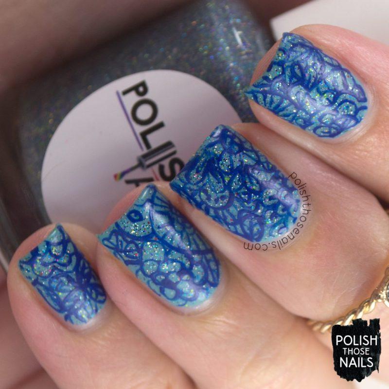 nails, nail art, nail polish, blue, doodles, polish those nails