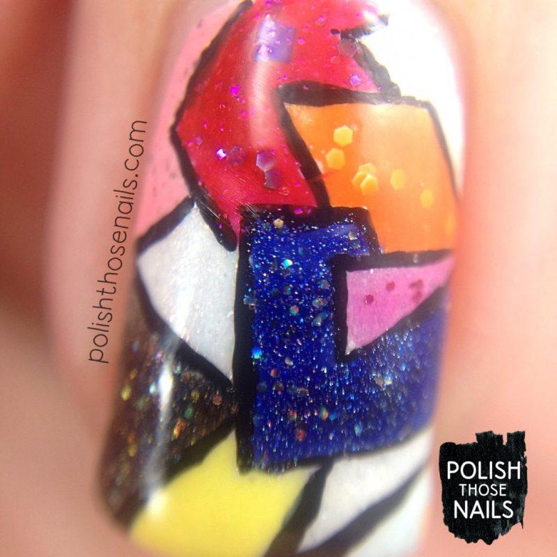nails, nail art, nail polish, fashion, indie polish, polish those nails, geometric, macro