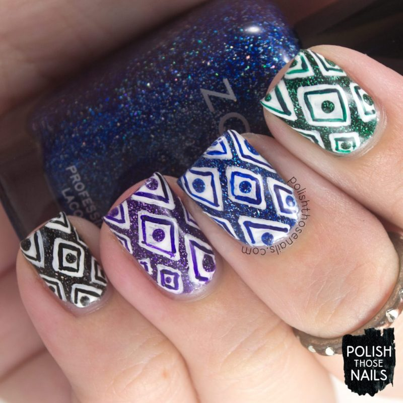 nails, nail art, nail polish, holo, diamonds, polish those nails