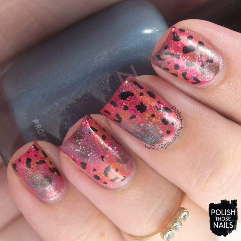 Day Thirteen - Rainforest Frog Print • Polish Those Nails
