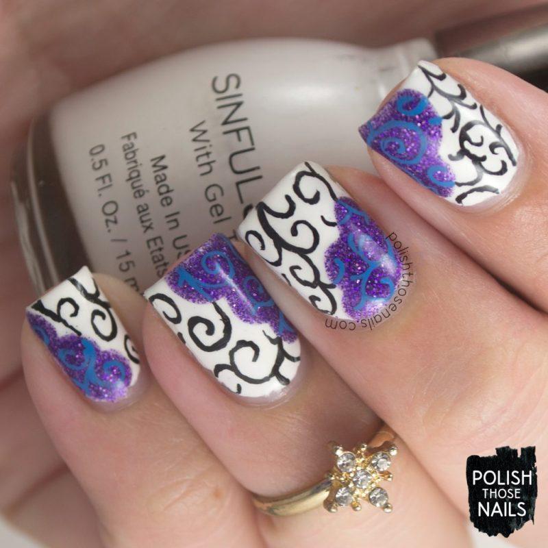 nails, nail art, nail polish, swirls, song, polish those nails