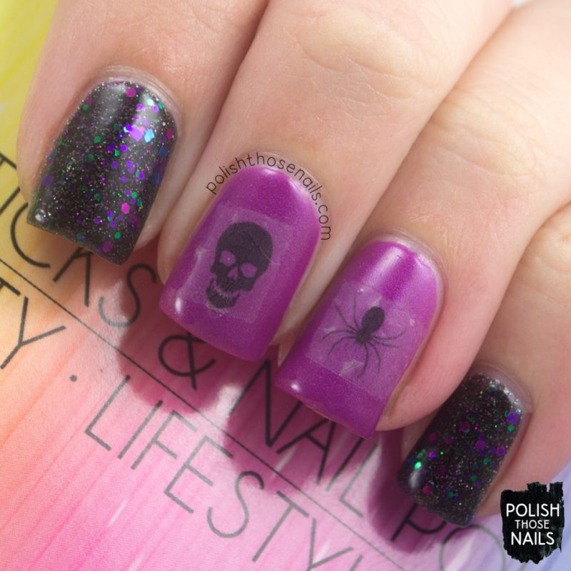 nails, nail art, halloween, lipsticks & nail polish, polish those nails, review