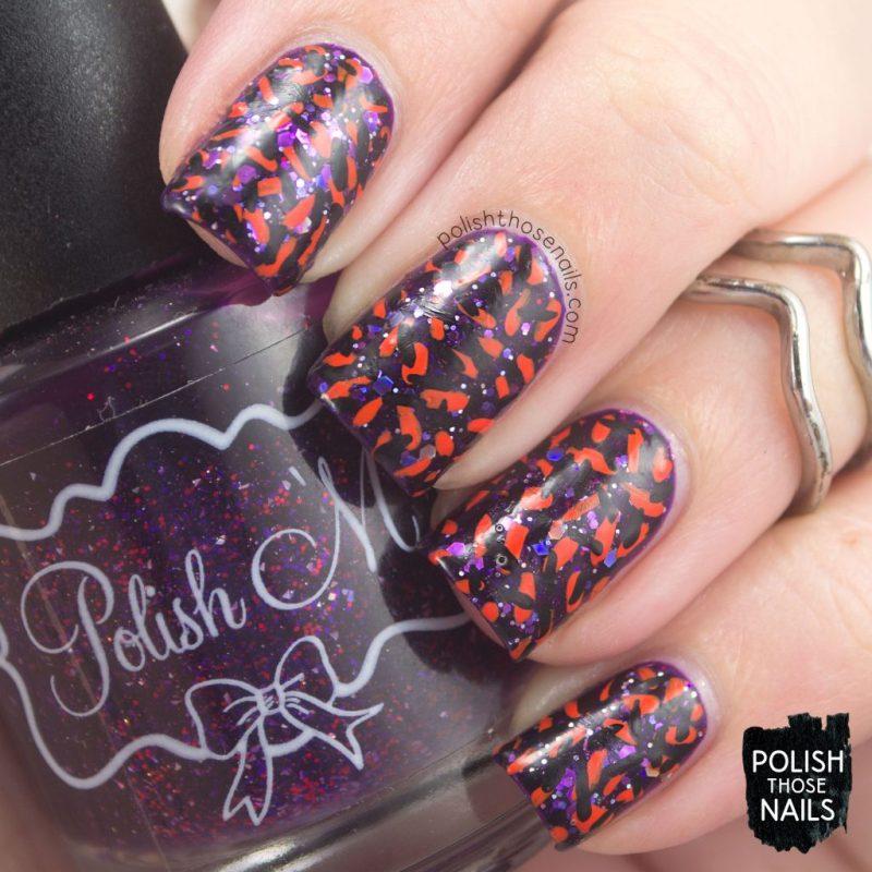 nails, nail art, nail polish, halloween, indie polish, polish those nails