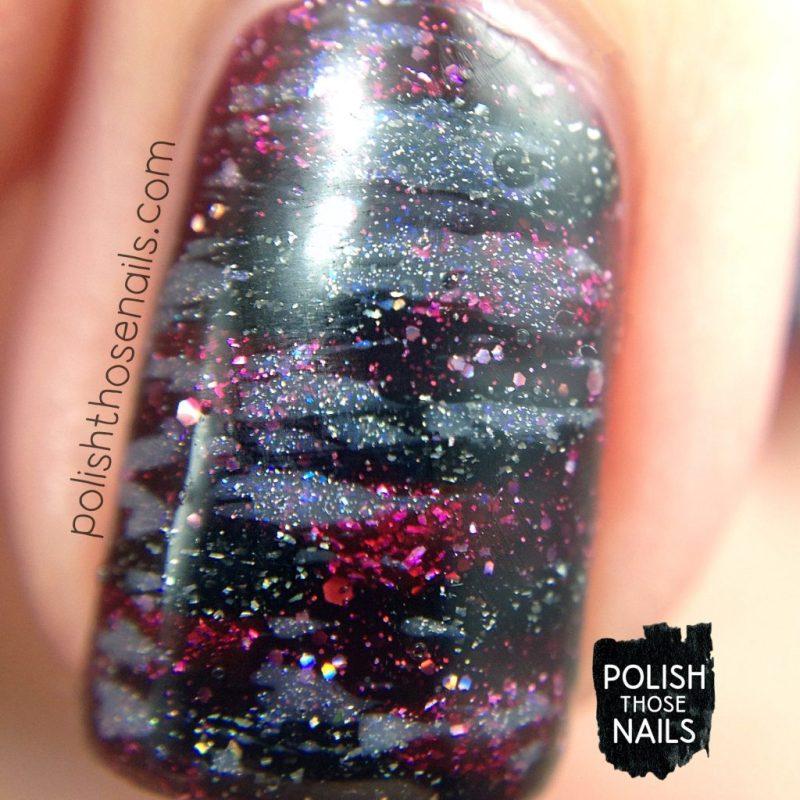 nails, nail art, nail polish, vampy, distressed, polish those nails, macro
