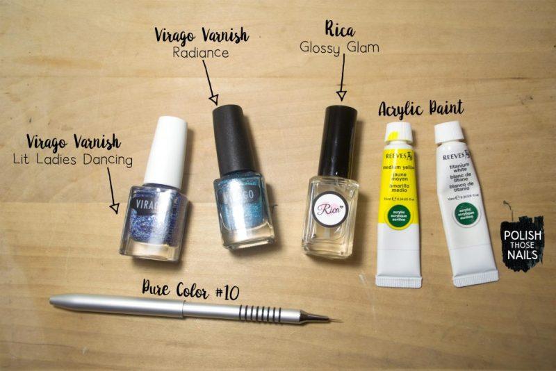blue-glitter-yellow-spots-nail-art-bottle-shot