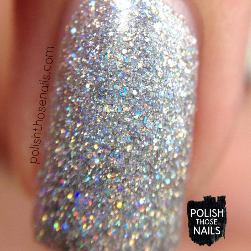 do i have to, glitter, silver, nails, nail polish, indie polish, parallax polish, polish those nails, stat-ick-tics set, macro