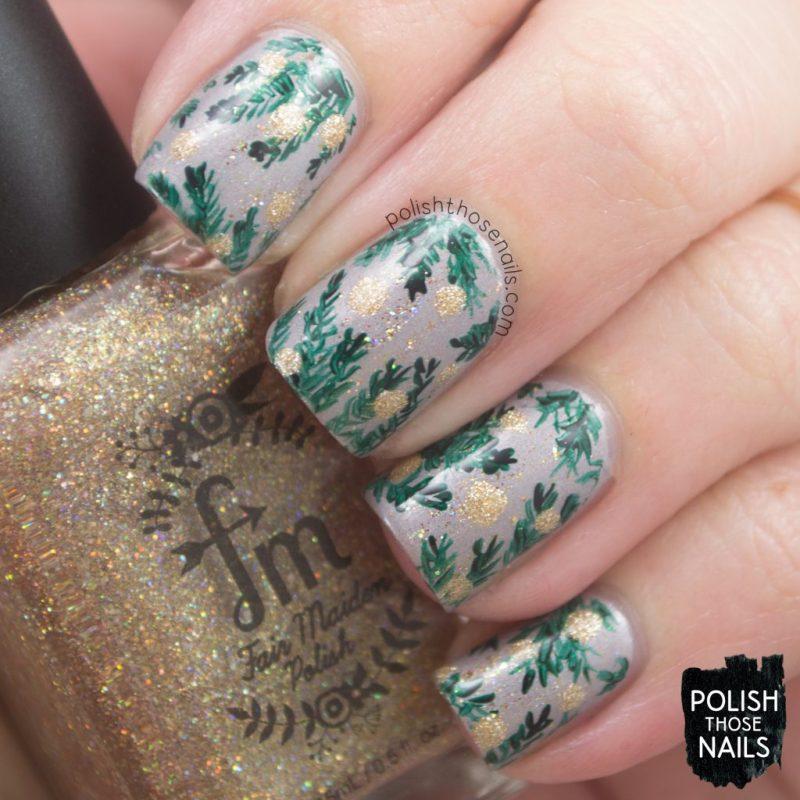 nails, nail art, nail polish, branches, polka dots, polish those nails,