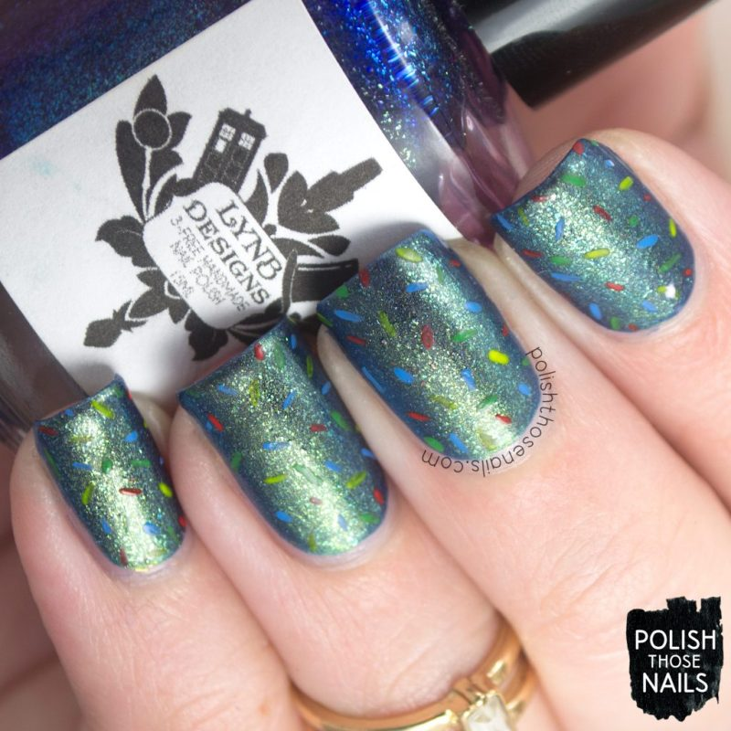 nails, nail art, nail polish, shimmer, duochrome, indie polish, confetti, polish those nails