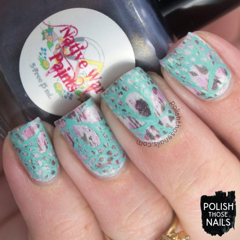 nails, nail art, nail polish, floral, not stamping, polish those nails, indie polish