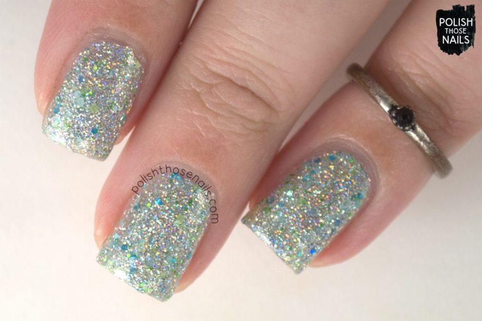 holo, silver, pier pressure, nails, nail polish, indie polish, different dimension, polish those nails, glitter