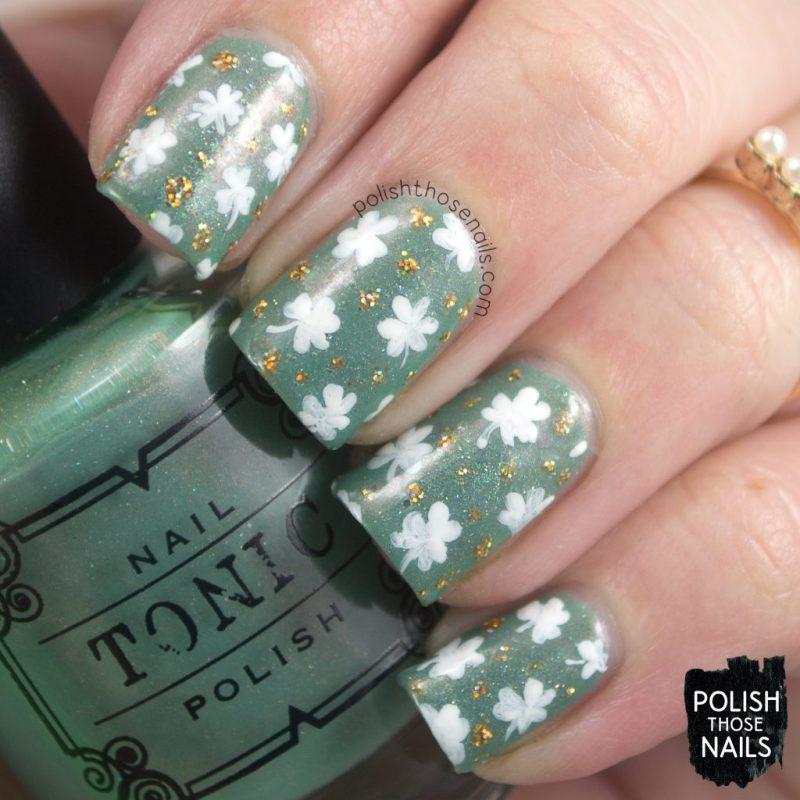 Green // Sweet Shamrock Shakes • Polish Those Nails