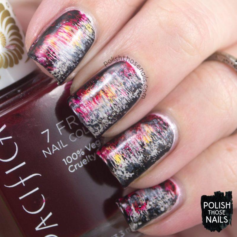 nails, nail art, nail polish, distressed, art, polish those nails,