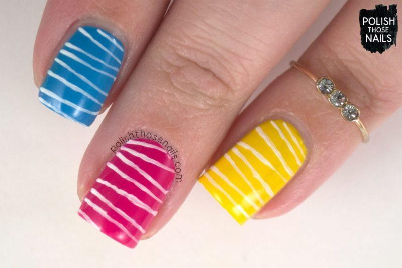 nails, nail art, nail polish, cmyk, graphic design, polish those nails