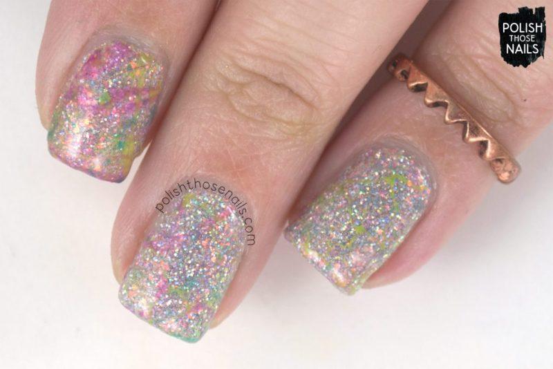 nail art, watermarble, nails, nail polish, different dimension, glitter, polish those nails, indie polish