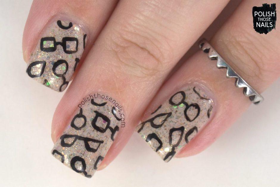 nails, nail art, nail polish, glasses, polish those nails, pattern,