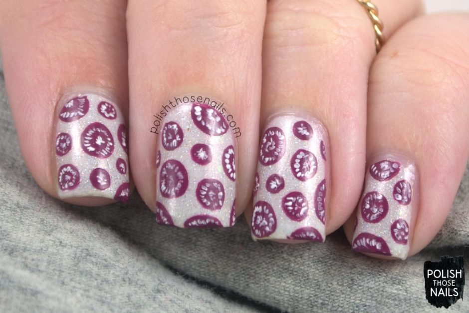 nails, nail art, nail polish, vegetarian, polka dots, polish those nails, indie polish