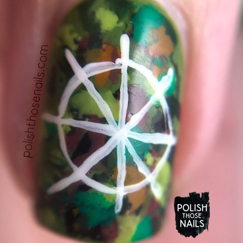 nails, nail art, nail polish, rainforest, seeds, abstract, polish those nails, macro