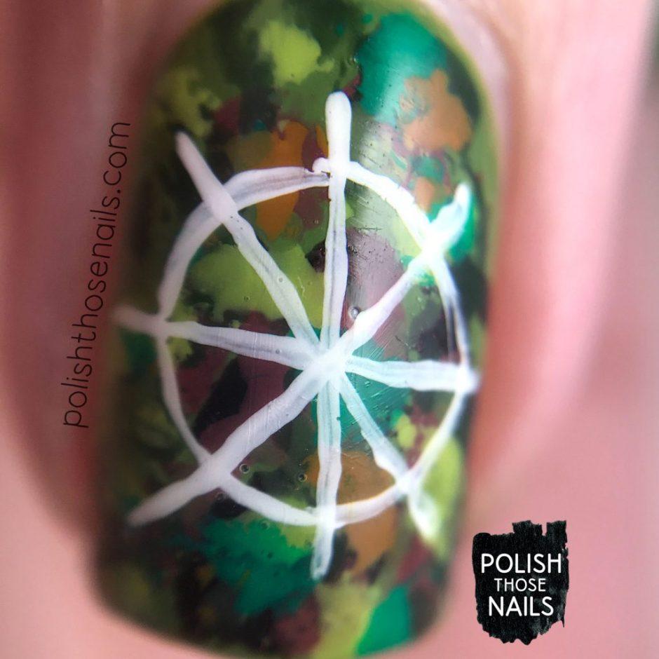 nails, nail art, nail polish, rainforest, seeds, abstract, polish those nails, macro