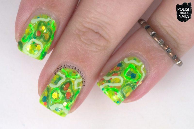 nails, nail art, nail polish, green, indie polish, polish those nails,