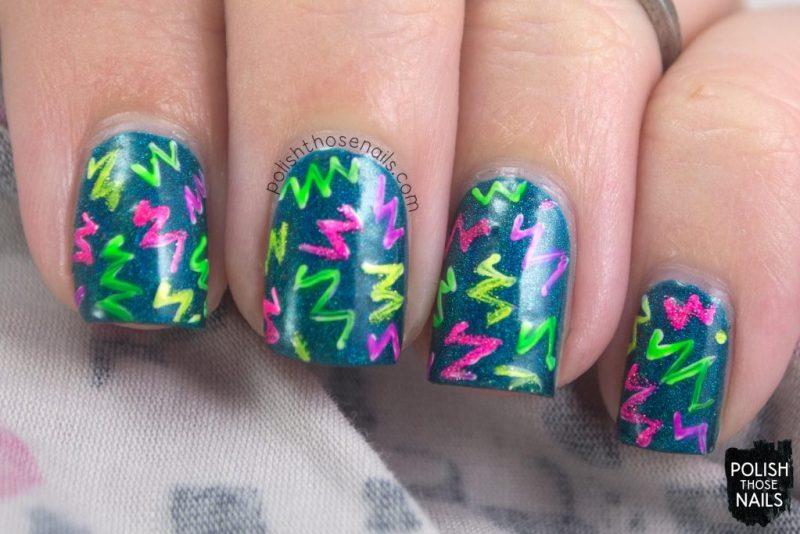 nails, nail art, nail polish, neon, polish those nails