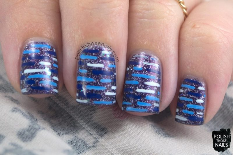 nails, nail polish, nail art, blue, polish those nails, indie polish