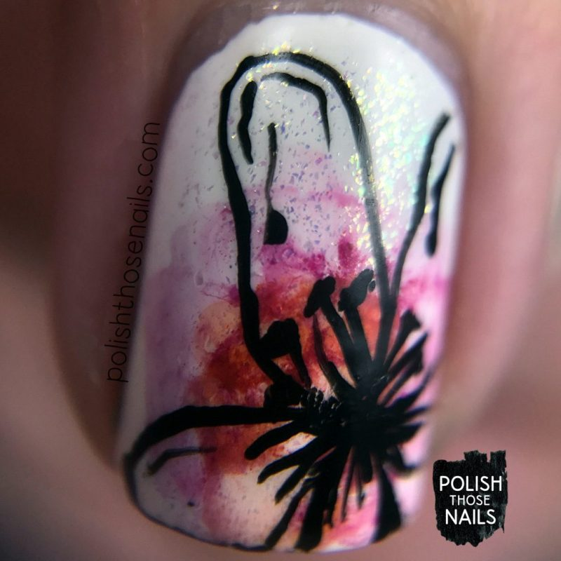 nails, nail art, nail polish, flowers, floral, polish those nails, watercolor, throwback, macro