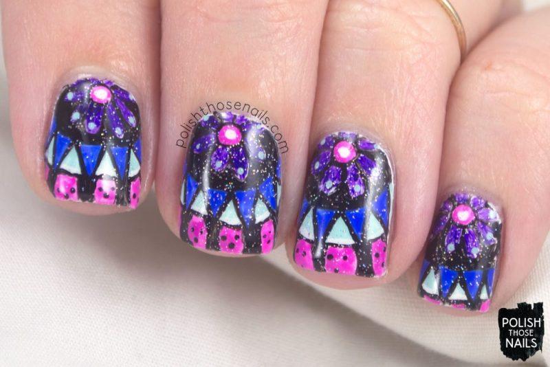 7513b731b nails, nail art, nail polish, mandala, polish those nails, ...